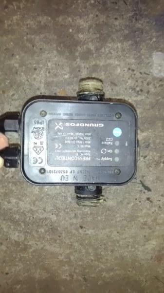 Tiefrunnenpumpe Defekt ausgeschlossenelerelektronischer Druckschalter